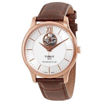 Tissot T-Classic Tradition Automatic Silver Dial Men's Watch T063.907.36.038.00