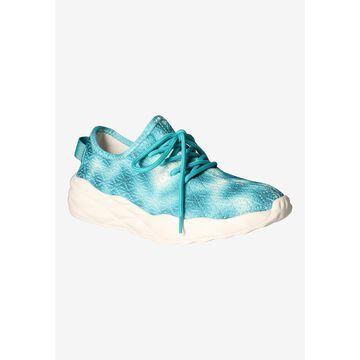 Women's Badrika Sneakers by J. Renee in Aqua Tie Dye (Size 10 1/2 M)