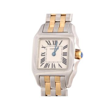 Cartier Panthere Silver gold and steel Watches