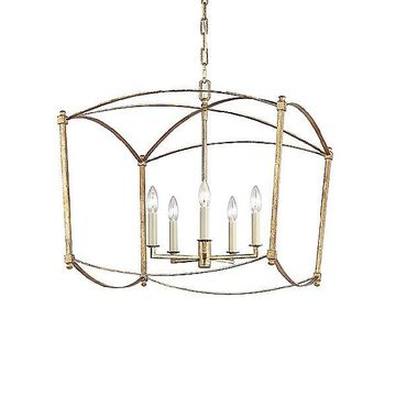 Thayer Foyer Chandelier by Feiss