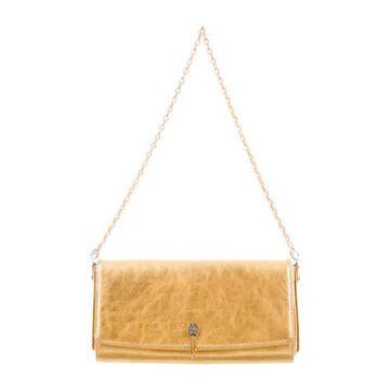 18K Diamond-Accented Evening Bag Gold