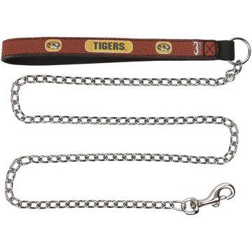 Missouri Tigers Chain Leash - Brown