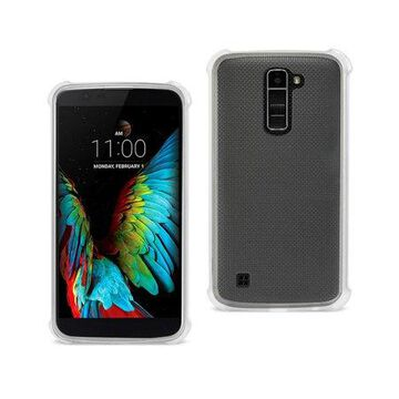 Lg K10 Mirror Effect Case With Air Cushion Protection In Clear