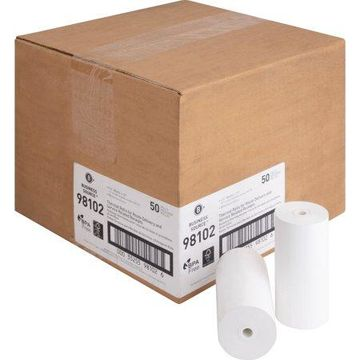 Business Source, BSN98102, Portable Printer Receipt Thermal Rolls, 50 / Carton, White