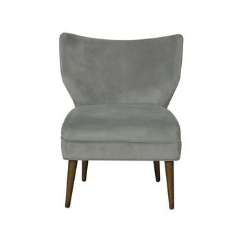 HomePop Wingback Accent Chair