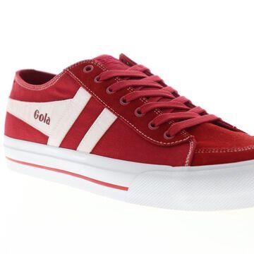 Gola Quota II Red White Mens Low Top Sneakers