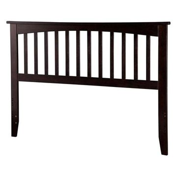 Atlantic Furniture Mission King Spindle Headboard, Espresso