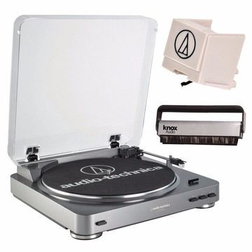 Audio-Technica Fully Automatic Turntable with Replacement Stylus Bundle