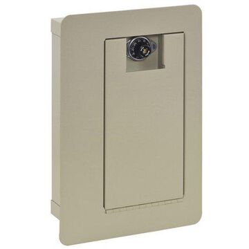Edsal 500 cu. in. Wall Safe with Combination Lock, 3100-6 Gray
