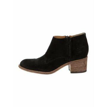 Nubuck Boots Black