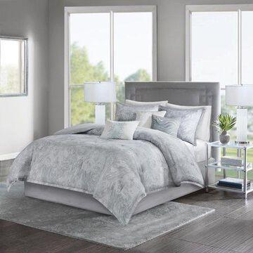 Home Essence Karlene 7 Piece Cotton Sateen Comforter Set