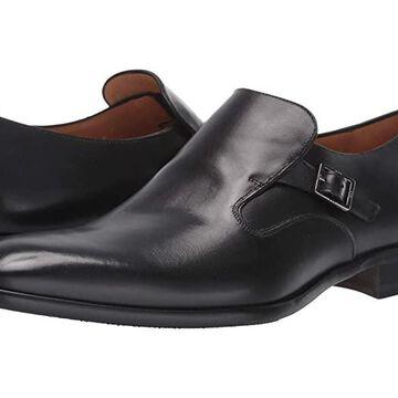 Mezlan Foggia (Black) Men's Slip on Shoes