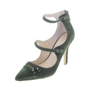 Charles by Charles David Womens Mac Dress Heels Suede Almond Toe