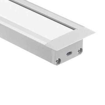 Kichler Cabinet Lighting Channel | 1TEC2STRC8SIL