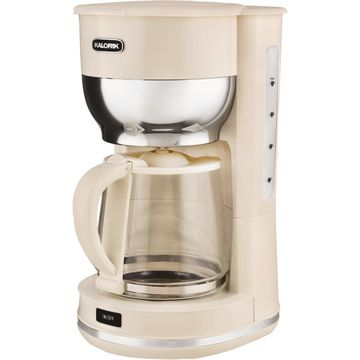 Kalorik 10 Cup Cream Retro Coffee Maker CM 46085 CR