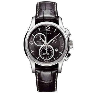 Hamilton Men's 'Jazzmaster Chrono Quartz' H32612735 Watch - Black (Black)