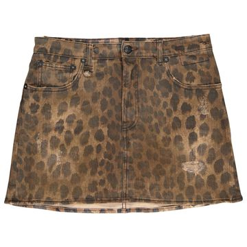 R13 Brown Cotton - elasthane Skirts