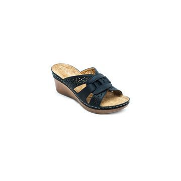 GC Shoes Womens Odelia Wedge Sandals