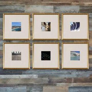 Gold 6-Piece Frame Set By Studio Decor