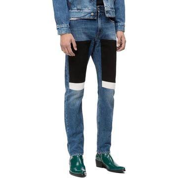 Calvin Klein Jeans Mens Slim Jeans Denim Five-Pocket