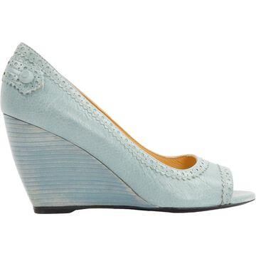 Balenciaga Blue Leather Heels
