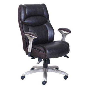 Serta Smart Layers Jennings High Back Executive Big & Tall Chair, Brown