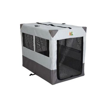 Midwest Canine Camper Sportable Crate, Gray, 42