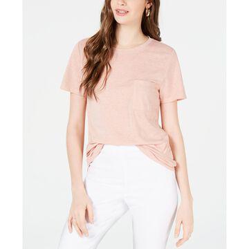 Juniors' Boyfriend Pocket T-Shirt