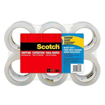 Scotch Heavy-Duty Shipping Packing Tape, 1 7/8