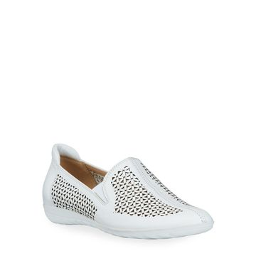 Bogey Perforated Sneaker Flats
