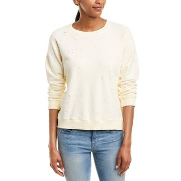Monrow Womens Splatter Sweatshirt
