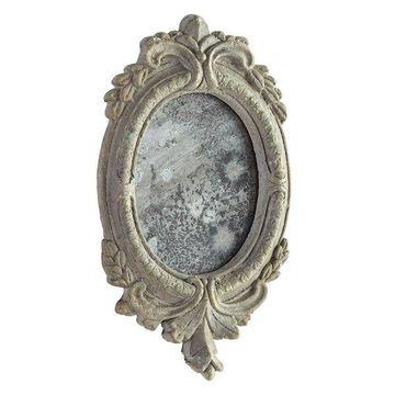 Wall Mirror Cyan Design Addie Antiqued Ash