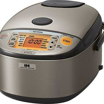 ''Zojirushi NP-HCC10XH Induction Heating System Rice Cooker and Warmer, 1 L, Stain''