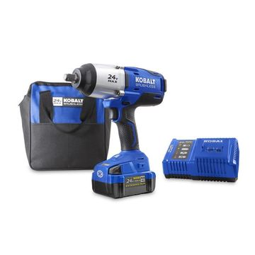 Kobalt 24-Volt Max 1/2-in Drive Cordless Impact Wrench (1-Batteries)