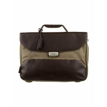 Nylon Messenger Bag w/ Tags Brown