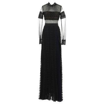 Self Portrait Black Synthetic Dresses