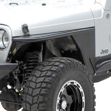 Smittybilt 76862 XRC Armor Front Tube Fenders For 1987-1995 Jeep JK Wrangler