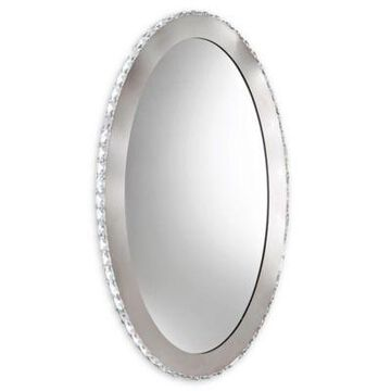 EGLO USA Toneria 1-Light LED Mirror Vanity in Chrome