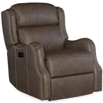 Hooker Furniture Living Room Sawyer Power Recliner