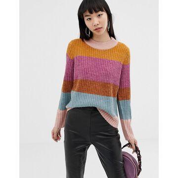 Ichi MULTICOLOR Stripe Sweater