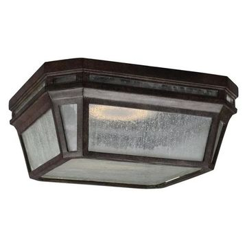 Feiss Londontowne LED Outdoor Flush, Weathered Chestnut