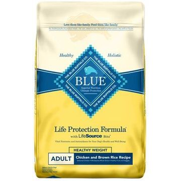 Blue Buffalo Chicken and Brown Rice Recipe Adult Dry Dog Food, 30-lb