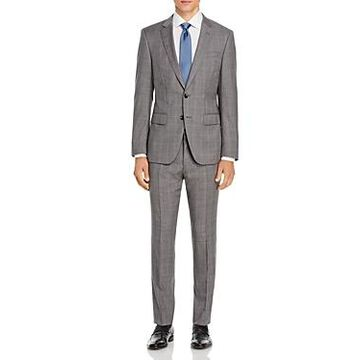 Boss Huge/Genius Plaid Slim Fit Suit