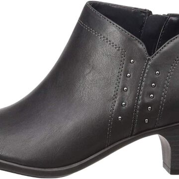 Easy Street Women's Voyage Open Toe Bootie with Mini Studs Ankle