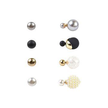 Decree 4 Pair Earring Set