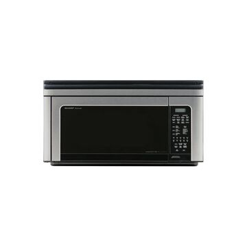 Sharp 1.1 Cu. Ft. 850W Over-the-Range Convection Microwave Oven in Stainless Steel