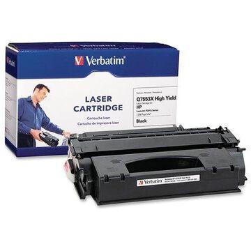 Verbatim HP Q7553X Compatible High Yield Toner Cartridge for LaserJet P2015 Series