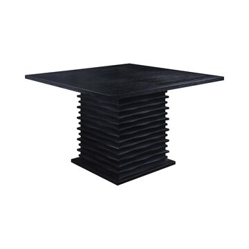 Coaster Company Stanton Contemporary Counter-Height Table, Black (Stools Sold Separately)
