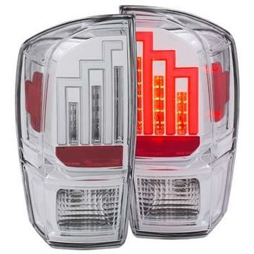 Anzo USA LED Tail Lights in Chrome, LED Tail Lights - 311283