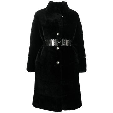 Ermanno Scervino Coats Black